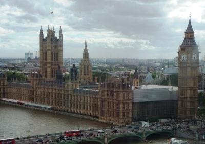 Big Ben visto da London Eye