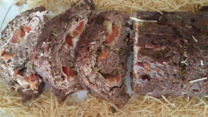 Rocambole de Carne 3